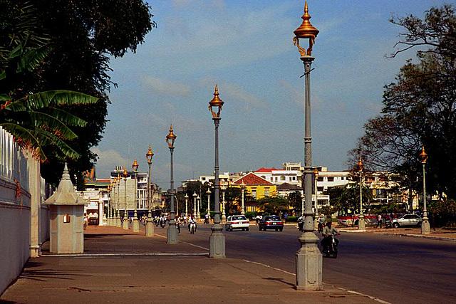 Sothearos Blvd. in Phnom Penh