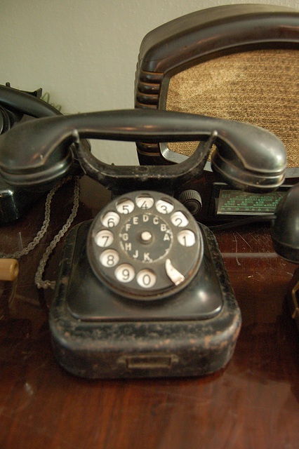 telefono kun disko por la numeroj