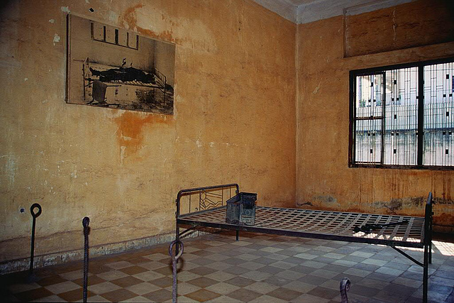 Former classroom used for torture