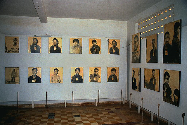Displays of prisoners inmates