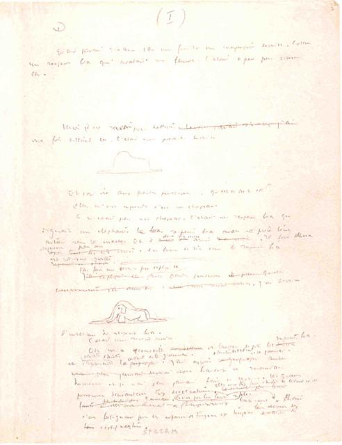 La Eta Princo. Manuskripto