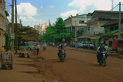 Road near Blvd. Preah Monivong