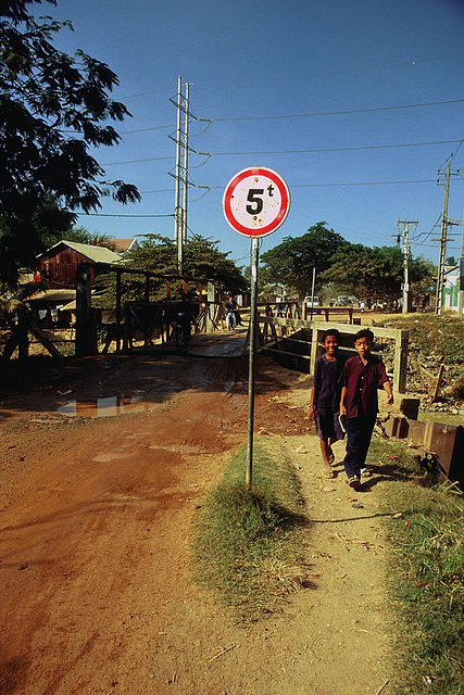 On the outskirts of Phnom Penh ...