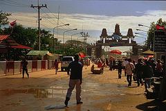 Border monument to Cambodia