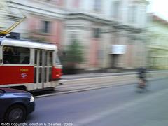DPP #7065 Pan on Narodni Trida, Prague, CZ, 2009