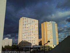 Storm Clouds Over Sidliste Haje, Prague, CZ, 2009