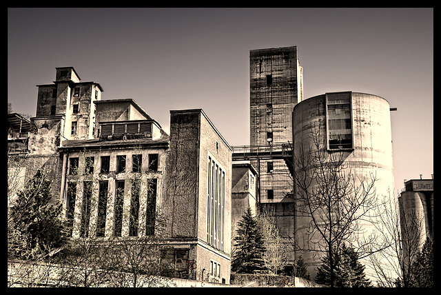 the cement castle
