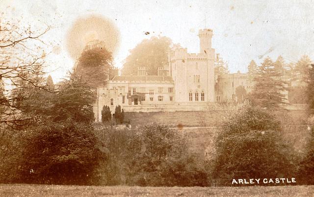 Arley Castle, Worcestershire (Demolished)