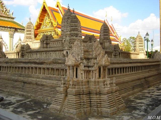Miniature des temples d'Angkor
