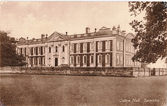 Oulton Hall, Cheshire (Burnt and Demolished)