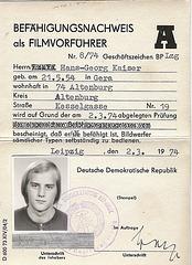 Filmvorführer Kaiser