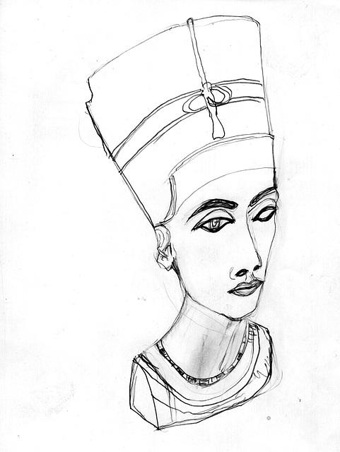 Nefertiti, la belulino estas veninta