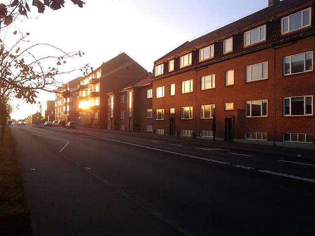 Early morning in Esbjerg