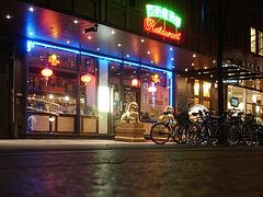 Vélos et dragons de nuit  /  Bikes & dragons night sight..   Copenhague /  Copenhagen.   25-10-2008