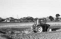 Start of deep plowing