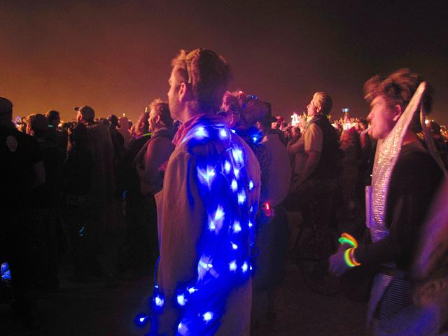Crowd Watching The Burn (0535)