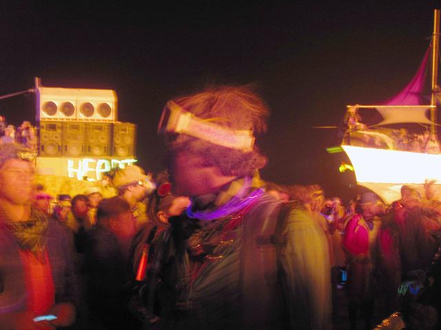 Crowd Watching The Burn (0538)