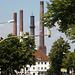 Schornsteine vom VW Werk Wolfsburg