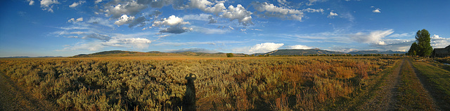 Grand Teton Eastern View From Mormon Row (1)