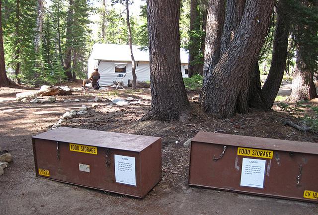 May Lake Camp Bear Boxes (0201)