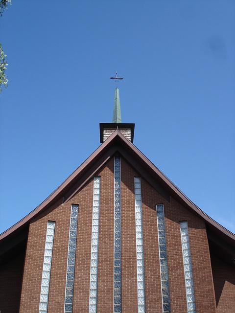 Église de campagne québecoise /  Juillet 2009