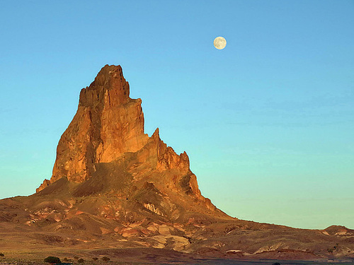 Ipernity P6202961bc Shiprock Volcanic Neck By Jacques
