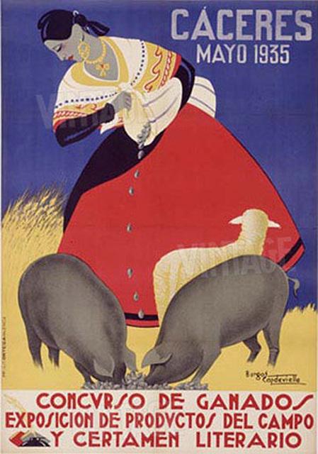 Concurso de Ganados 1935