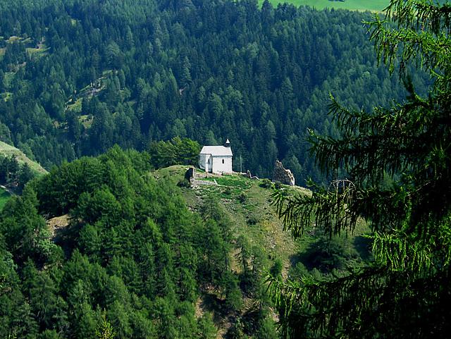 Droben stehet die Kapelle -  Kapelle im Matscher Tal/Vinschgau