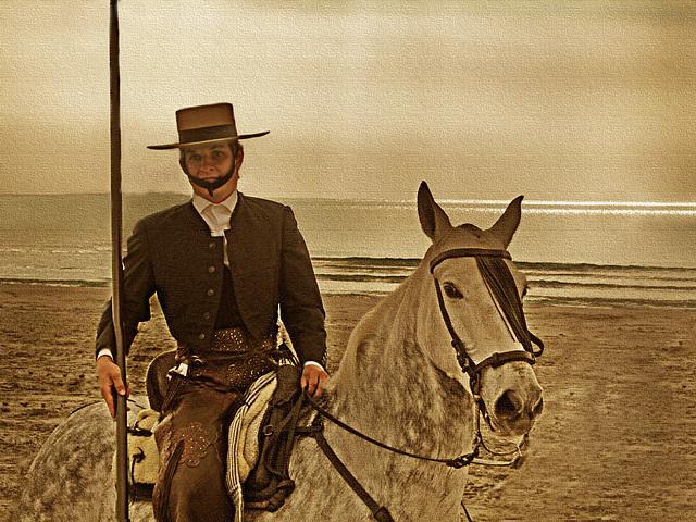 el juli à cheval