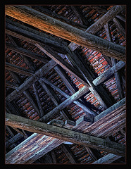 the roof truss