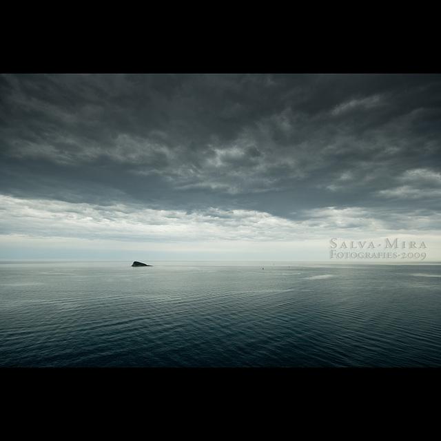 Una mar quadriculada