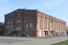 das Kraftwerksgebäude der Ilseder Hütte
