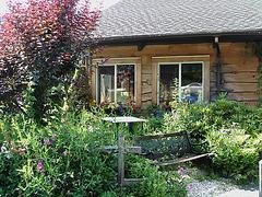 Peavine restaurant  -  Route 107. Vermont USA  - 25 juillet 2009