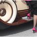 Luna photographe /Rallye de voitures antiques et talons hauts  / Ancient cars rallye and high heels