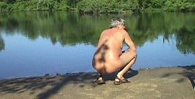 Edun lake nudist