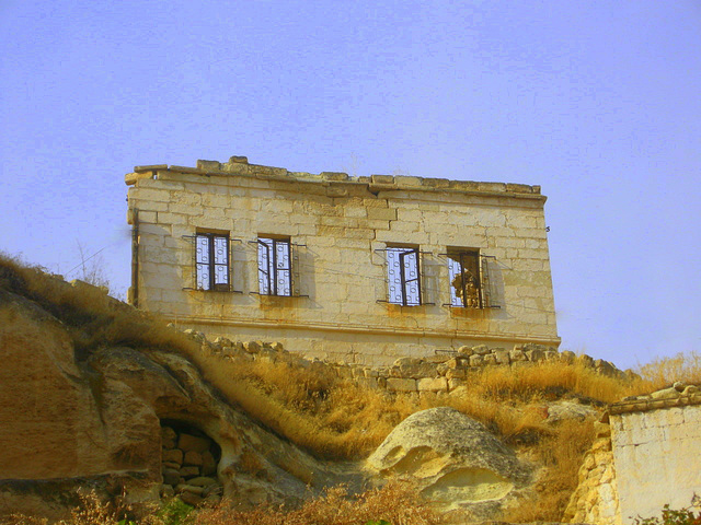 Sinasos/Mustafa Paşa-Ürgüp Eski Yunan Evi... Old Greek House in Sinasos/Ürgüp...