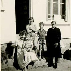 famille ma grand mère mon frère et mes soeurs