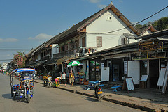 Walking street in Luang Prabang