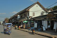 Walking street in Luang Prabang