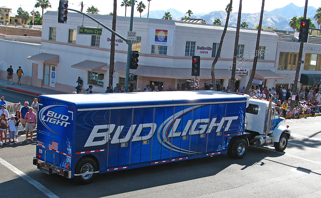 Palm Springs Pride 2009 - Undecorated Bud Light Truck (1741)