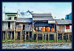 Can Tho - stilt houses