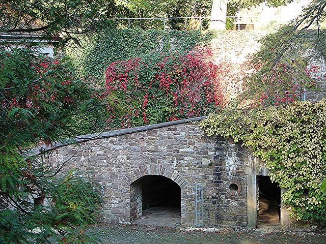 20051013 073DSCw [D-HM] Schloss, Innenhof, Bad Pyrmont