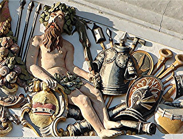 20051013 072DSCw [D-HM] Relief am Schloss, Bad Pyrmont