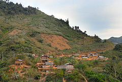 Next little village after Boun Tai