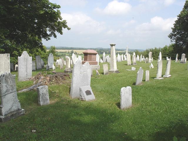 Whiting church cemetery