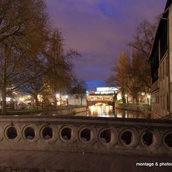 Quartier de la petite France vers les ponts couverts