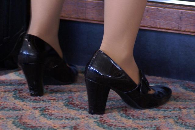 mary jane heels (F)