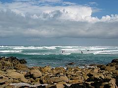 Surfing - am Pointe de la Torche - Bretagne