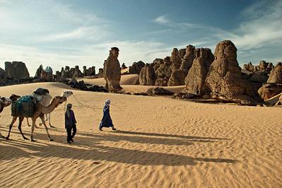 Le désert - Algérie