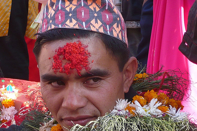 Mariage à Patan